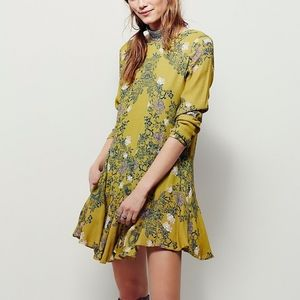 S Free People Smooth Talker Floral Print Tunic